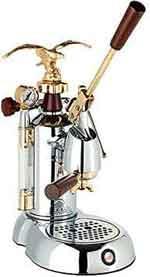 Handhebel-Espressomaschine-La-Pavoni-Expo, die Espresso und Siebträgermaschine