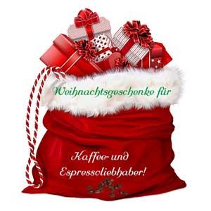 Weihnachtsgeschenke für Kaffee- und Espressoliebhaber!