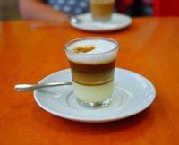 Cortado, eine Espresso-Variante
