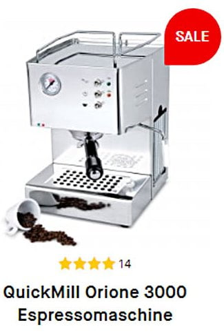 Espressomaschine Quick Mill Orione 3000 zu Weihnachten
