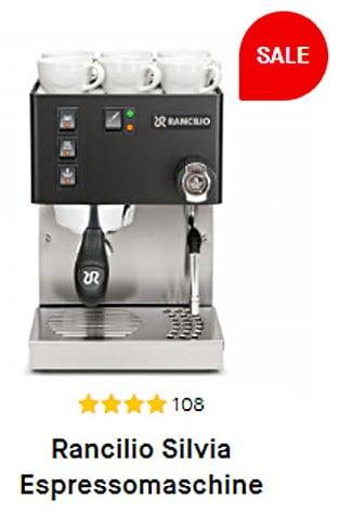 Espressomaschine Rancilio Silvia zu Weihnachten