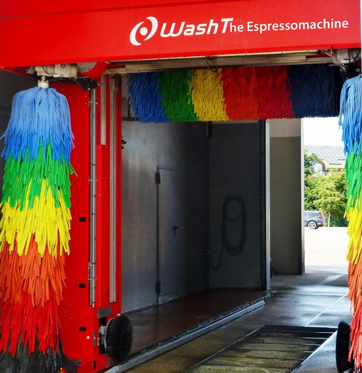Waschanlage für Autos eignet sich nicht zum Reinigen der Espressomaschine