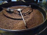 Rösten der Espressobohnen