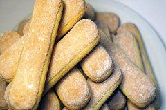 Löffelbiskuits für das klassische italienische Tiramisu Rezept