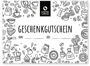 Kaffee Geschenke zu Ostern 2020 - ein Gutschein für Kaffee