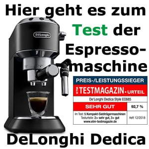 zum-test-espressomaschine-DeLonghi-685-Dedica